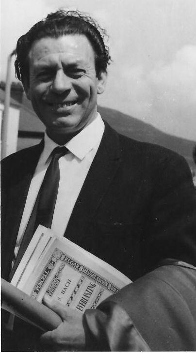 Ivor Evans at the Welsh National Eisteddfod 1964.I