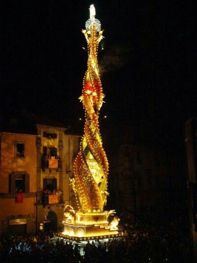 Festa di Santa Rosa, Viterbo, Italy