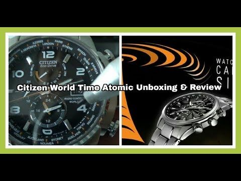 Citizen Eco Drive World Time A-T Atomic Clock Review | Non-Affiliated & ...