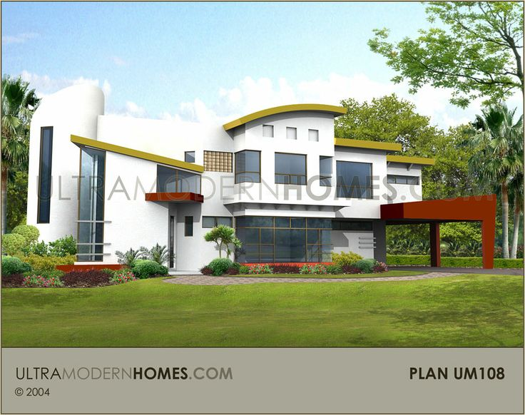 About Pre Designed Stock Plans Ultra Modern Contemporary House
