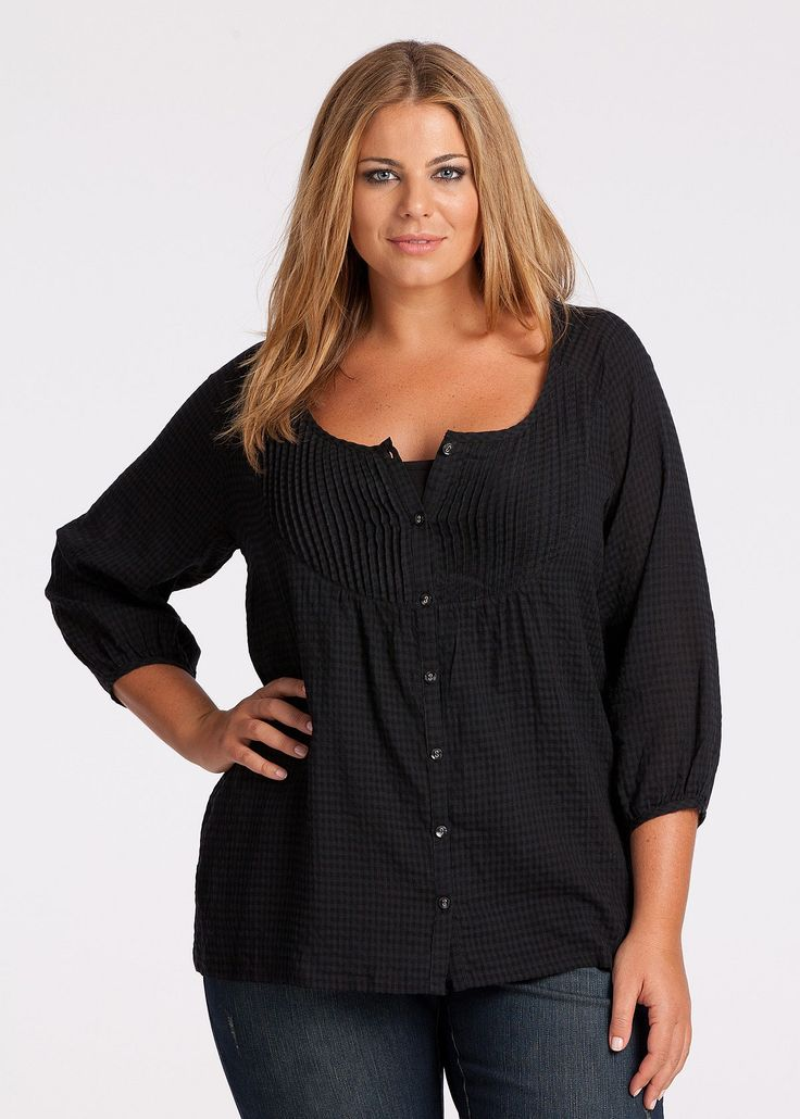 Plus Size Blouses For Women - Buy Plus Size Blouse Australia - WESTON BLOUSE - Virtu
