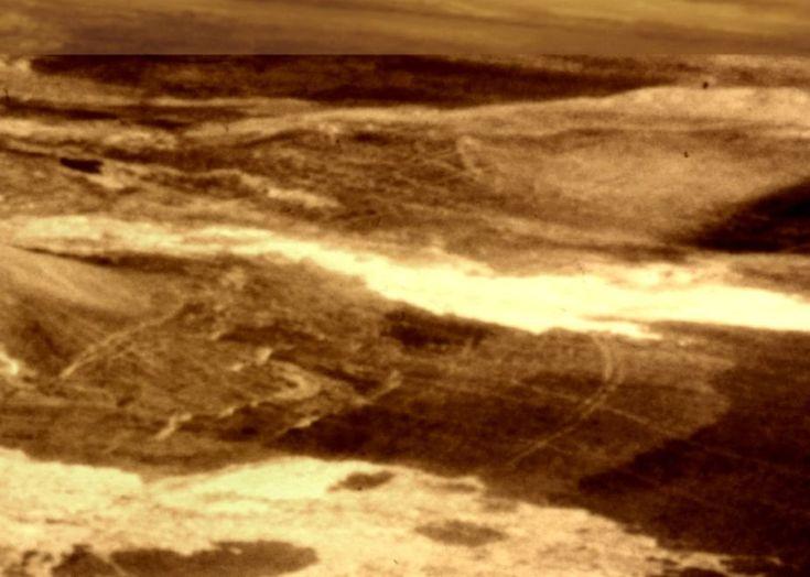 natural anomalies | Magellan Photo - Planet Venus Surface Anomalies clearly visible