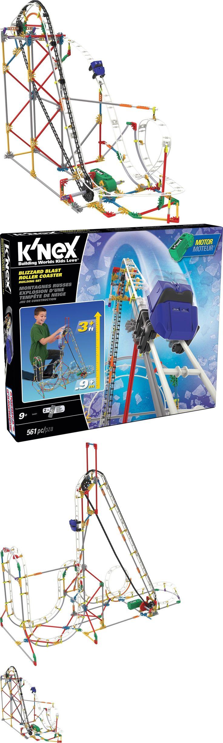 KNEX 21254: K Nex Blizzard Blast Roller Coaster Building Set -> BUY IT NOW ONLY: $58.17 on eBay!