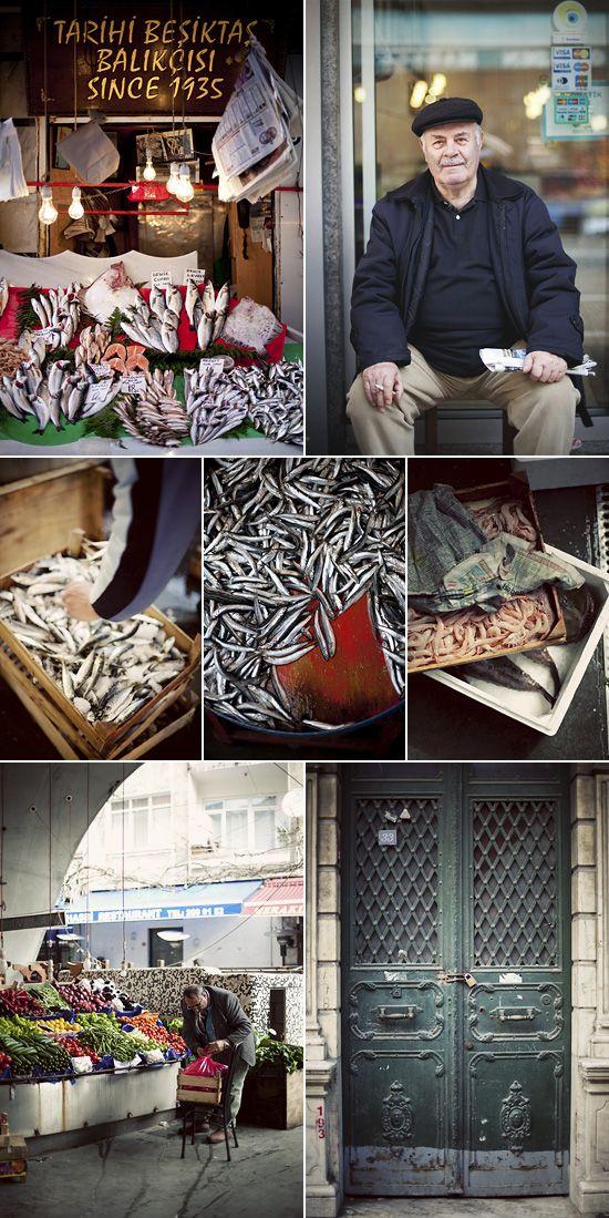 the beautiful, untouristed Beşiktaş fish market. İstanbul.