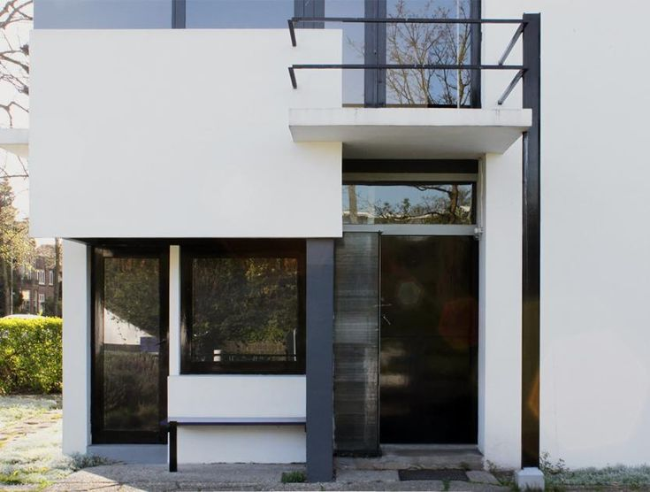Traditionell & modern: Programmatisch: Haustür am Rietveld-Schröder-Haus, Utrecht - Bild 11 - [SCHÖNER WOHNEN]
