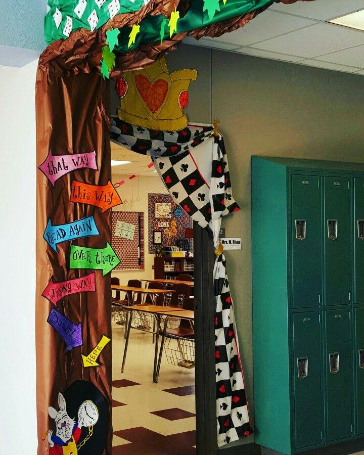 Classroom Decoration Ideas Forjada : Alice in wonderland classroom theme decor