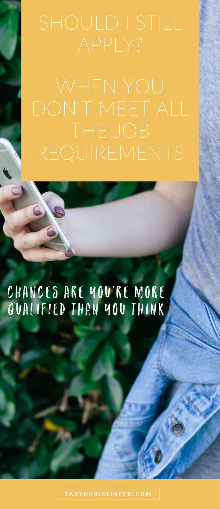 Should you still apply? When you don't meet all the job requirements.  Job Search | Jobs | Cover Letter | Resume | Careers | Job Hunting | Looking for Job | Career Advice | Job Search Tips