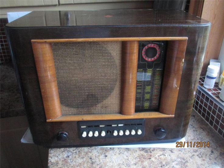 132 best Vintage Radio images on Pinterest   Radios, Antique radio ...