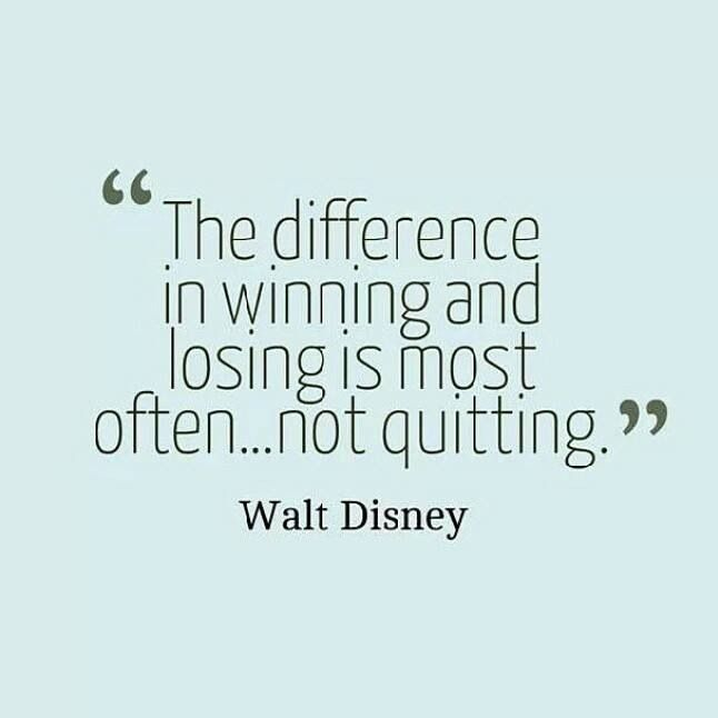 The difference between winning and losing... #Quotes  #IGIGI #IGIGIquotes                                                                                                                                                      More
