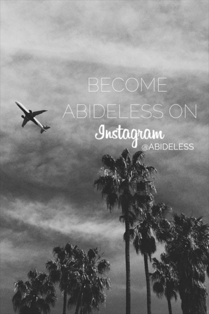 Dear ABIDELESS friends, if you enjoy our Pinterest account check out our Facebook page where we bring you different kind of content from the world of ABIDELESS! Thank you for your support  #ABIDELESS #more #fashion #more #news #dope #style #brand #streetwear #streetstyle #travel #lifestyle #young #fresh #dope #sky #palms