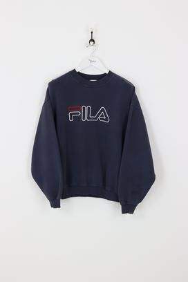 Fila Sweatshirt Navy Large