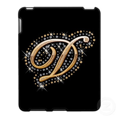 Monogrammed iPad Case - Initial D     http://www.zazzle.com/monogrammed_ipad_case_initial_d-176105165972990156?gl=esoticastore=238666634341022902: Monogrammed Ipad, Initial, Ipad Case