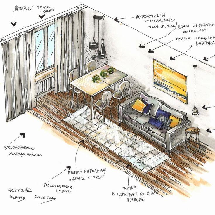 """✍️️ """"Рисуйте с нами, рисуйте как мы, рисуйте лучше нас!!!"""" На курсе мы расскажем про перспективу и ортогональные проекции, наглядно покажем плюсы и минусы таких подач ваших идей. Подробнее про интерьерный скетчинг вы сможете узнать на нашем образовательном курсе по телефону: +7(495)940-6460 #like #likeartist #artist #sketch #sketchbook #sketching #sketchoftheday #sketchaday #sketchaday #интерьер #скетчбук #скетч #скетчинг #курсскетчинга #курс #copic #letraset #обучение #дизайн #дизайнин..."""