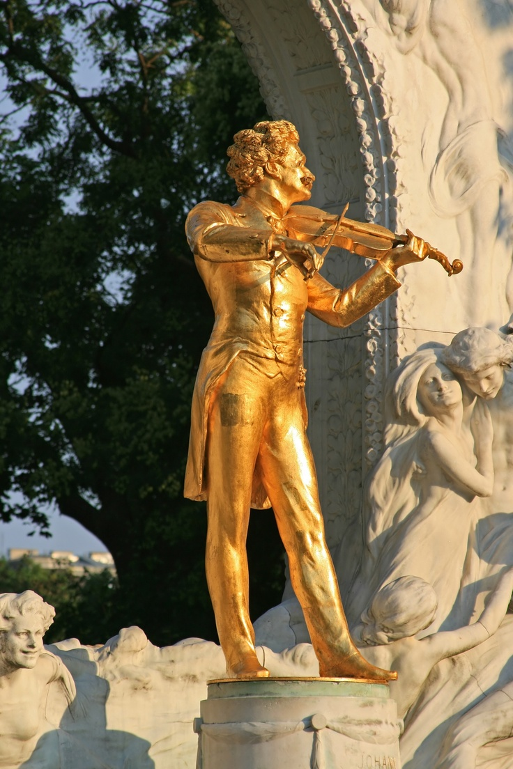 Johann Strauss Statue, Vienna, Austria