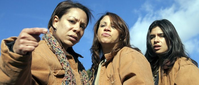 """""""Orange is the New Black,"""" actress Selenis Leyva plays Gloria Mendoza, one of the many inmates in a women's federal prison in Litchfield, NY. The show centers on inmate Piper Chapman (Taylor Shilling), a Connecticut woman serving 15 months for transporting drug money for her drug-dealer girlfriend (Laura Prepon). During our interview, Leyva, 41, who is of Dominican and Cuban descent, talked about working with a cast that is predominantly female."""