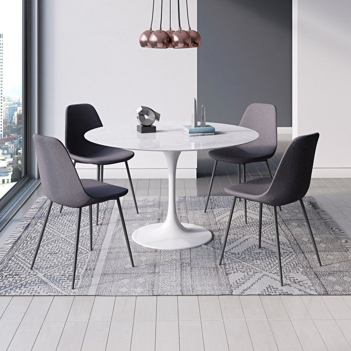 Lucy Matte Lacquer Dining Table In 2020 Dining Chairs White