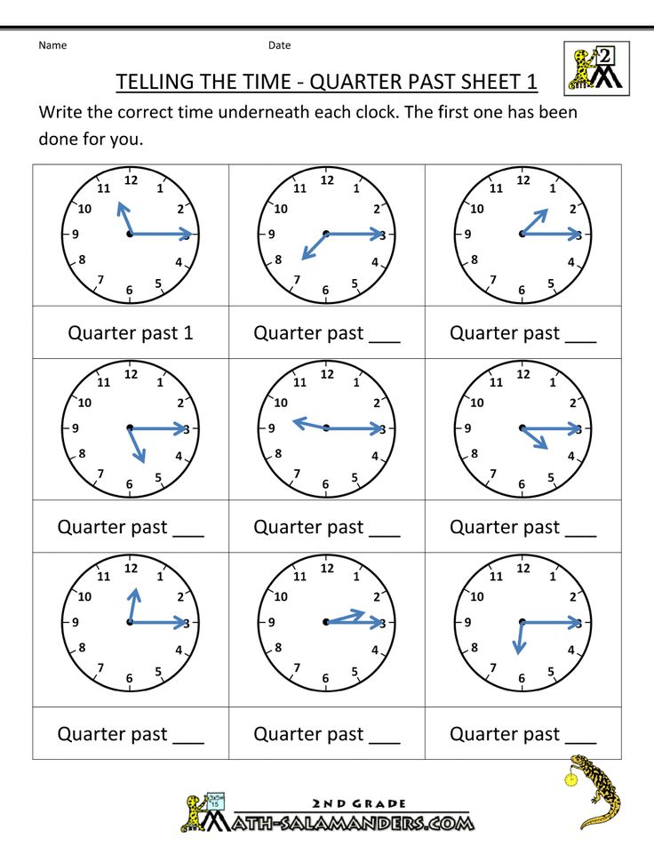 telling time quarter past on quarter past time worksheets math 2nd grade math worksheets. Black Bedroom Furniture Sets. Home Design Ideas
