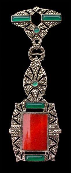 1925 Art Deco Brooch fashion love