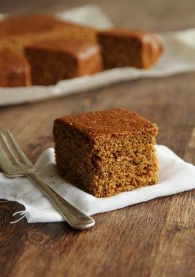 Parkin - my Dad used to love this <3 (*_*)    This recipe for treacly Parkin is a northern Bonfire Night tradition and is best left for a few days in a cake tin to turn nice and sticky before eating, if you can wait that long! Don't let the fact this cake has a longer list of ingredients than the average sponge put you off, its quick and easy to put together and well worth the effort!