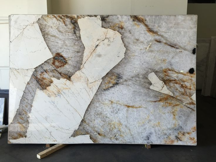 Beautiful material resulted in a beautiful kitchen island – Patagonia Granite is quarried in Brazil and it has large crystals of feldspar, quartz and biotite that make for a very unique and beautiful stone. Contact MJ Stone today for the best countertops in Houston! 832.887.3575. http://mjstoneonline.com/