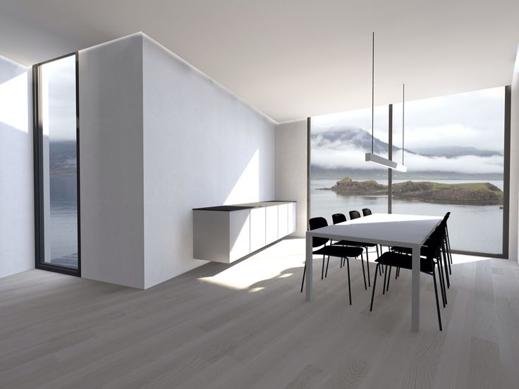 The Icelandic house from inside.