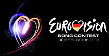 Logo of the Eurovision Song Contest 2011 which was held in Düsseldorf, Germany on 10th, 12th and 14th of May 2011.