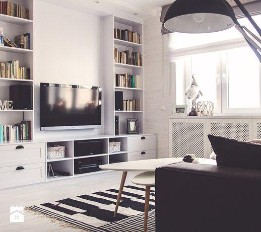 Salon, styl skandynawski - zdjęcie od Meblościanka Studio