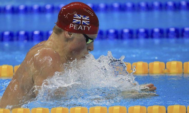 Adam Peaty | Swimming - Men´s 100m Breaststroke världsrekord 57.13, 2:a Cameron van der Burgh, Sydafrika 58.64, 3:a Cody Miller, USA 58.87