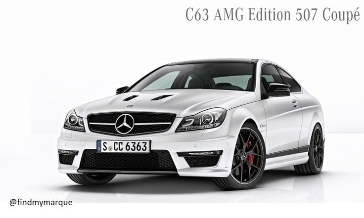 Mercedes C63 AMG Edition 507 Coupe White
