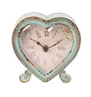 https://www.sassandbelle.co.uk/Boudoir Heart Clock £23