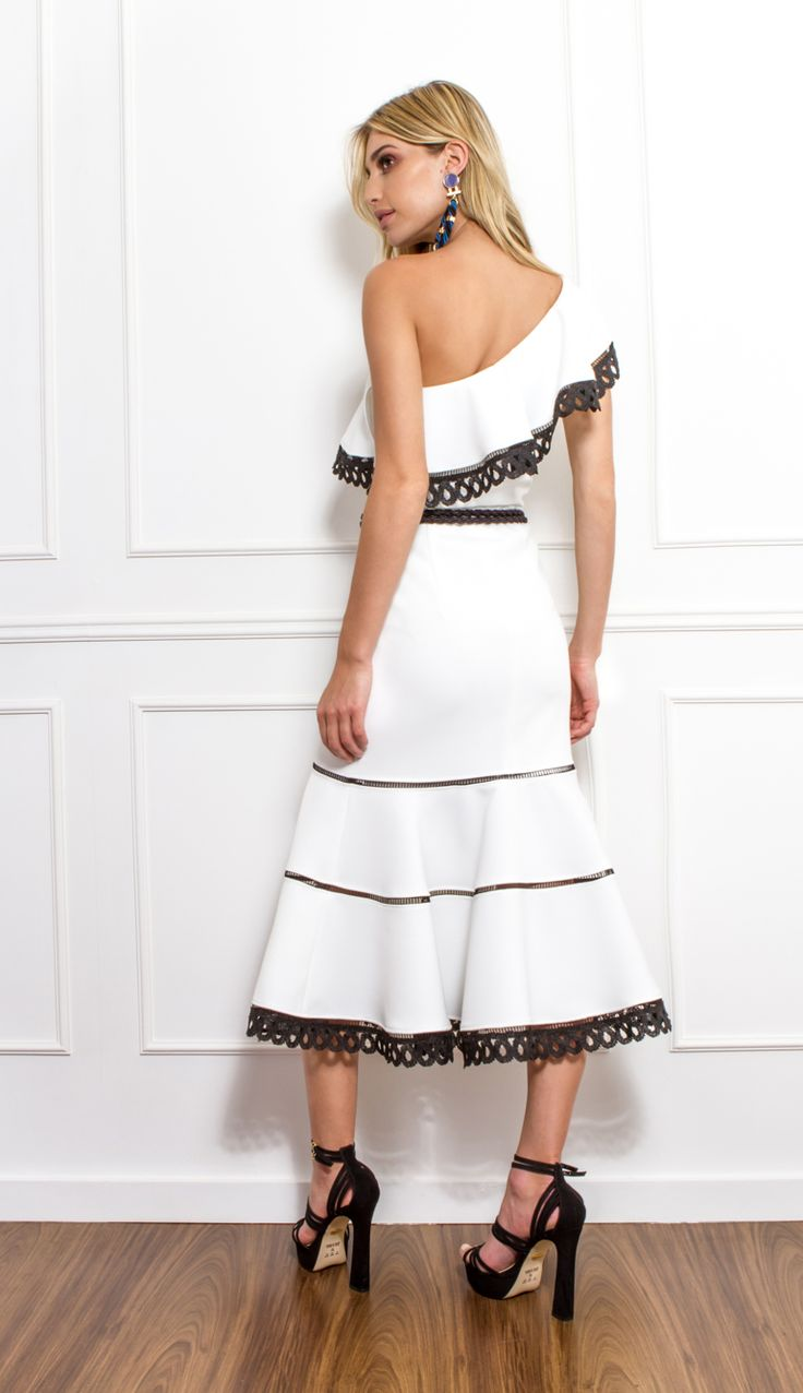 VESTIDO MIDI BABADO  - VE30121-99 | Skazi, Moda feminina, roupa casual, vestidos, saias, mulher moderna