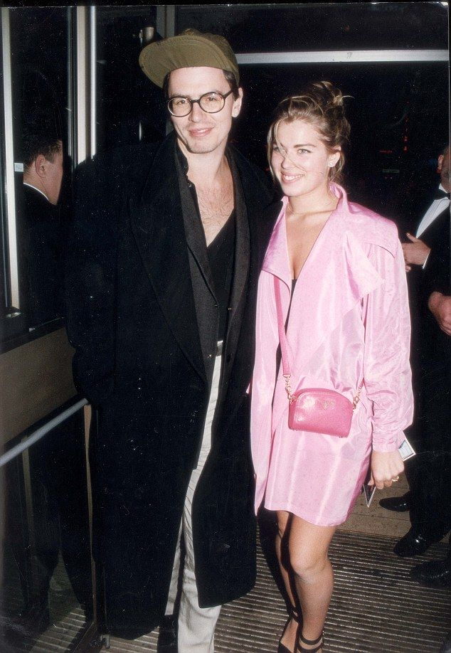 John Taylor of Duran Duran and Amanda de Cadenet at the Robin Hood Premiere in 1991...