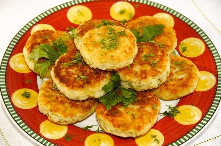 Оладьи из картофельного пюре / Простые рецепты