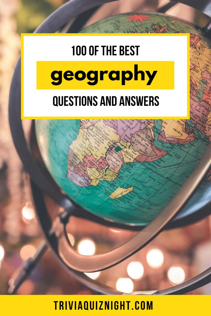 Looking To Run A Geography Quiz Questions  We U0026 39 Ve Put Together This Epic List Of 100 Of The B U2026 In