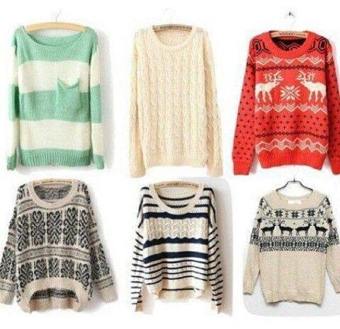 Sweaters · Cute SweatersWinter SweatersChristmas SweatersOversized