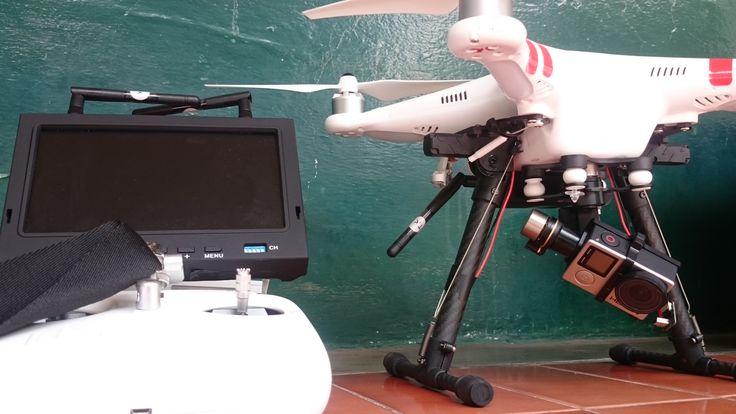 dji phantom 2, drone