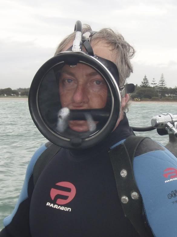 vintage dive mask