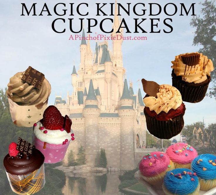 A Pinch of Pixie Dust: Cupcakes of Walt Disney World Guide/List