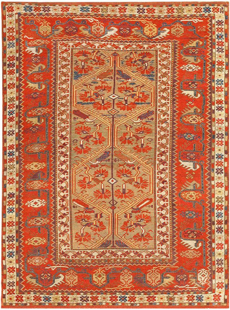 Antique Turkish Melas Rug 47481 Main Image By Nazmiyal