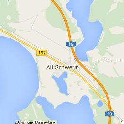 Alt Schwerin Karte