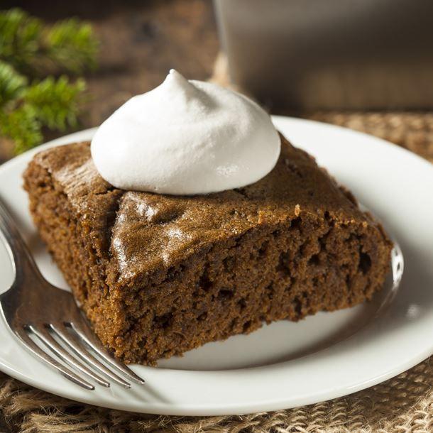 Gâteau au yaourt et au chocolat en poudre
