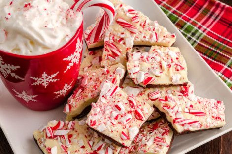 The Easiest Peppermint Bark Ever!