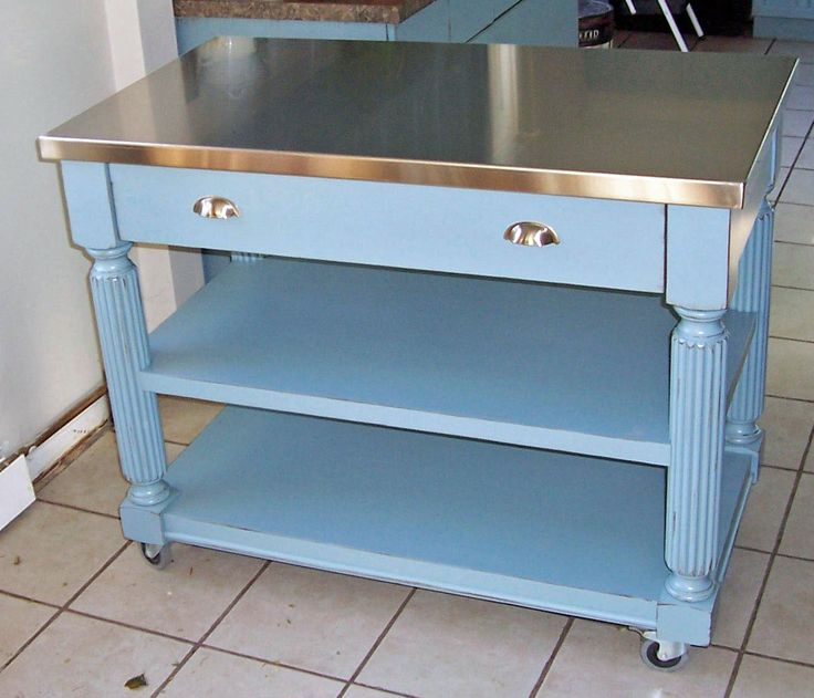 best 25 stainless steel prep table ideas on pinterest stainless steel island stainless steel. Black Bedroom Furniture Sets. Home Design Ideas