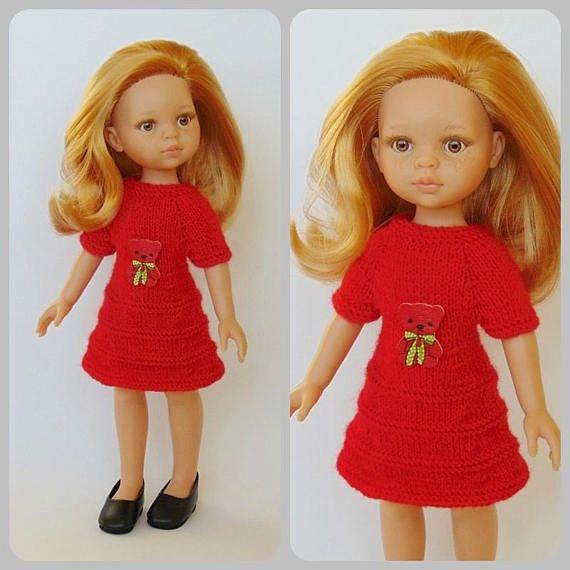 Paola Reina dress Paola Reina doll clothes doll dress