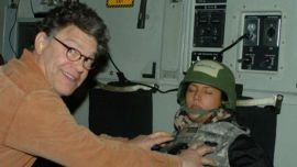A California TV host and sports radio broadcaster on Thursday accused Democratic Sen. Al Franken of kissing and groping her without her consent in 2006.