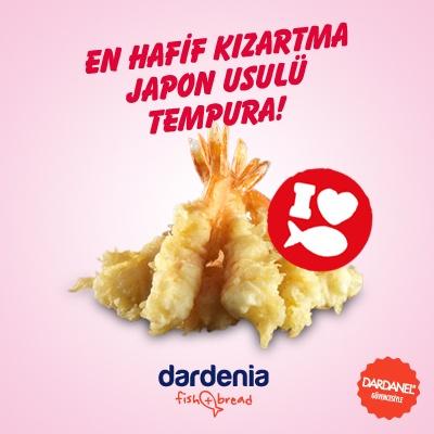 Japon mutfağının Sushi ile birlikte en büyük mucizesi Tempura!   http://www.dardenia.com/menu/tempura