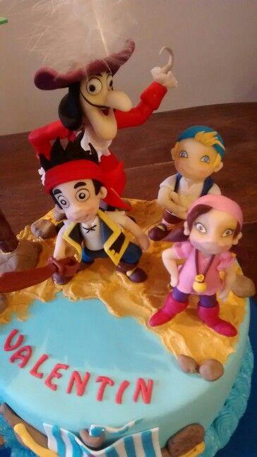Jake y los piratas en porcelana
