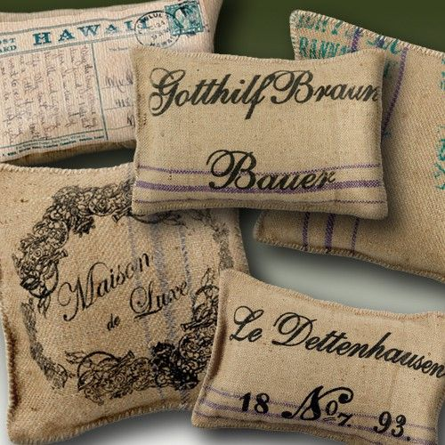 89 best images about things to do with burlap on pinterest for Burlap fabric projects