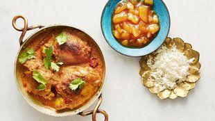 Chicken & apricot marsala