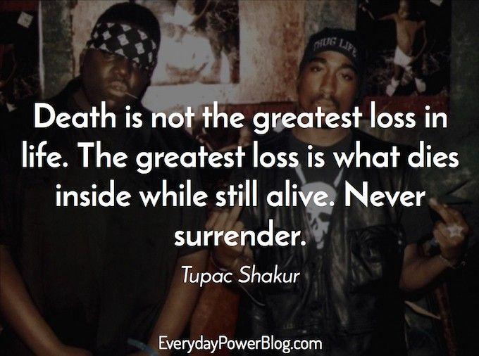 50 Inspirational Tupac Quotes on Thug Life, Success and Destiny